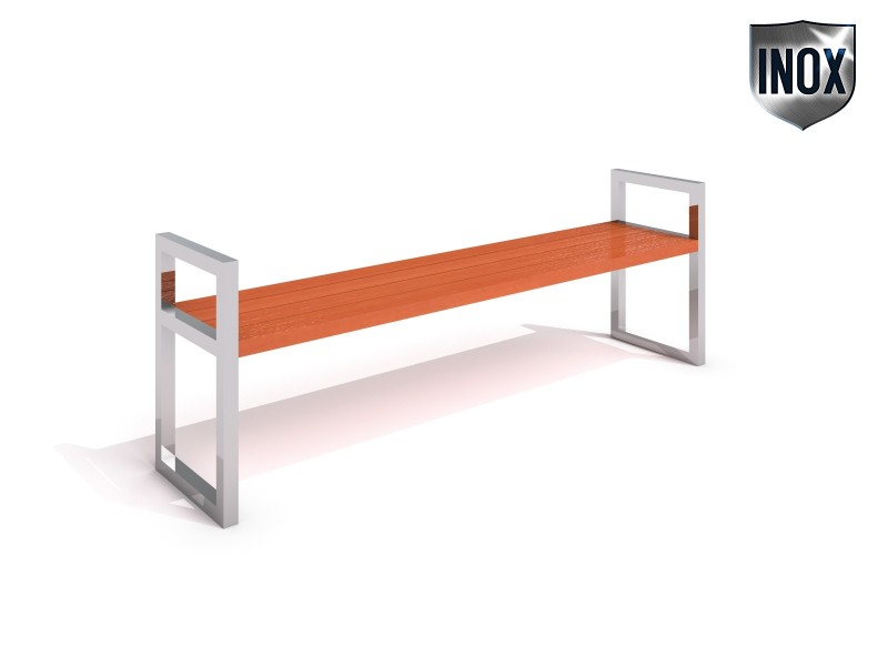 Stainless steel bench 05