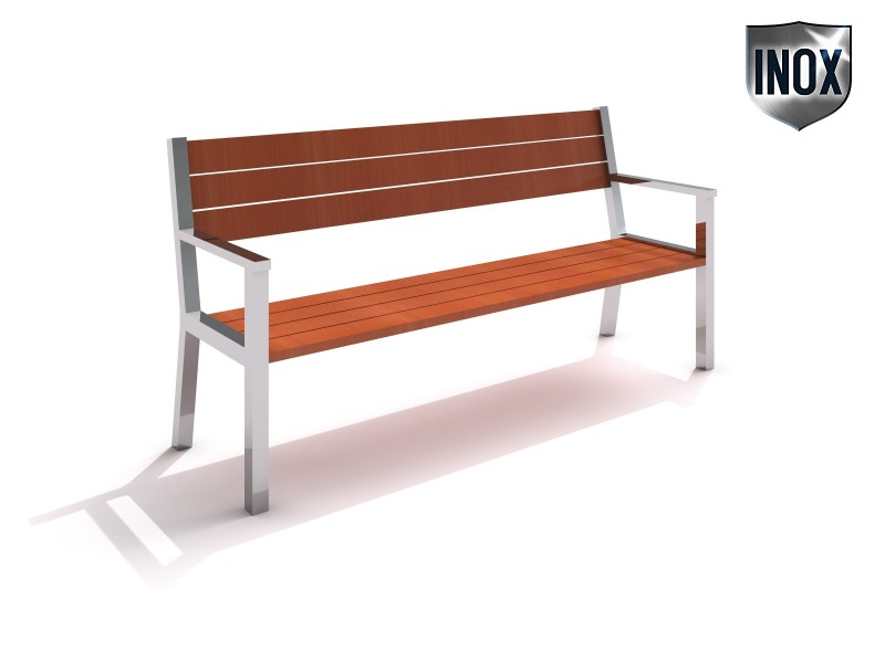 Stainless steel bench 07