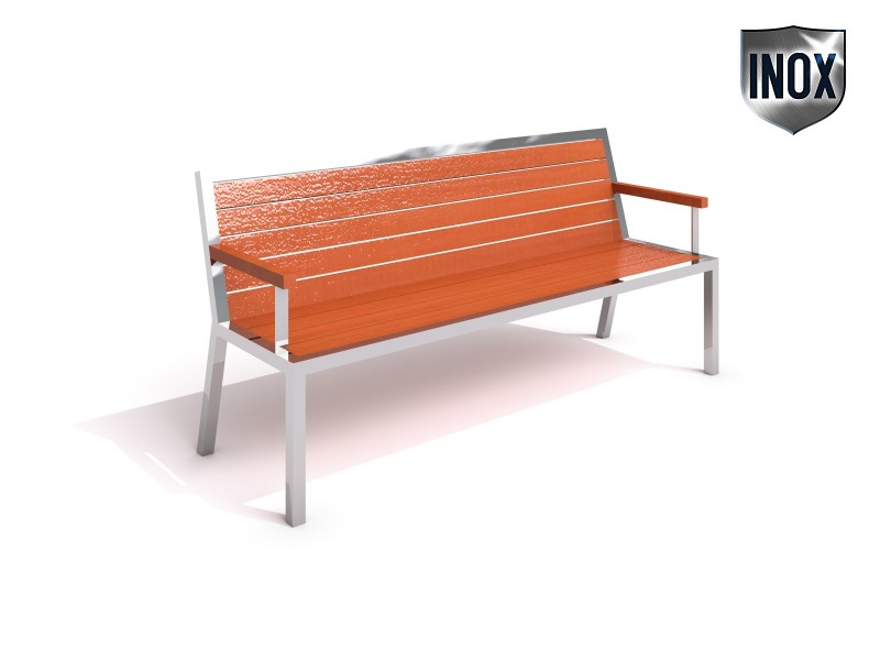Stainless steel bench 08