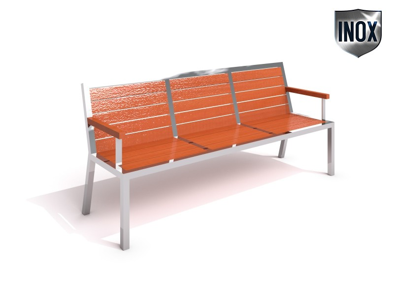 Stainless steel bench 09