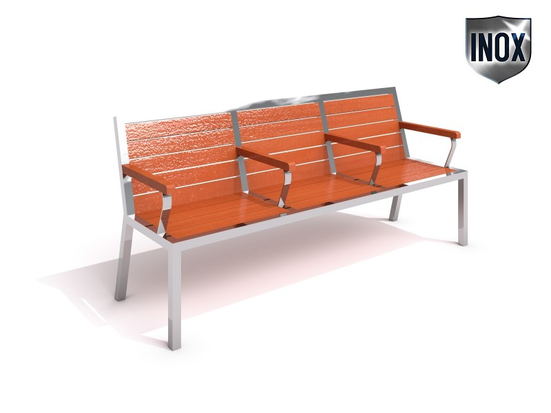 Playground Equipment for sale Stainless steel bench 08 Professional manufacturer