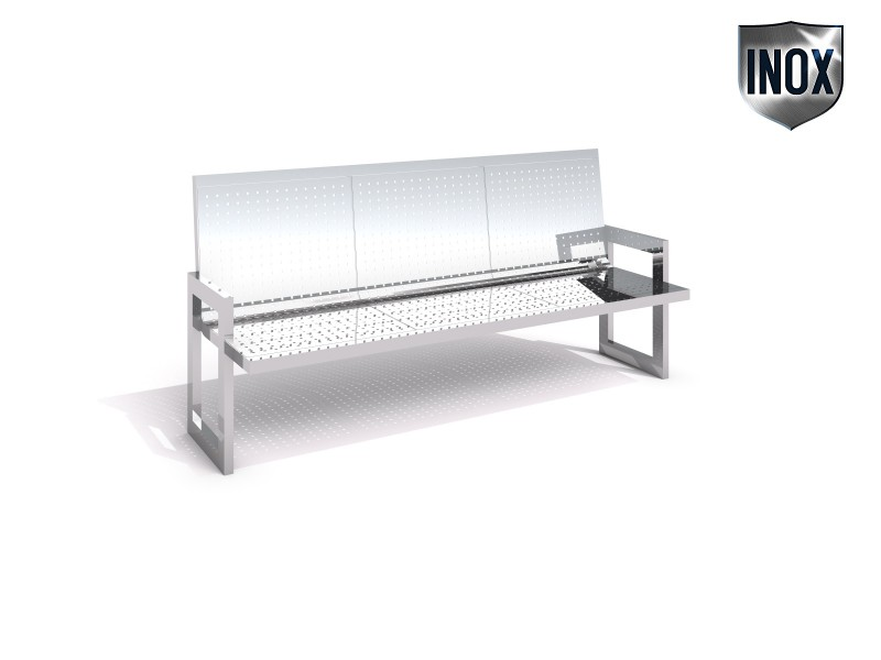 Playground Equipment for sale Stainless steel bench 09 Professional manufacturer