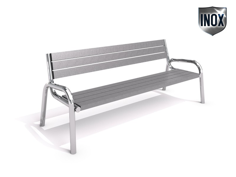 Stainless steel bench 14