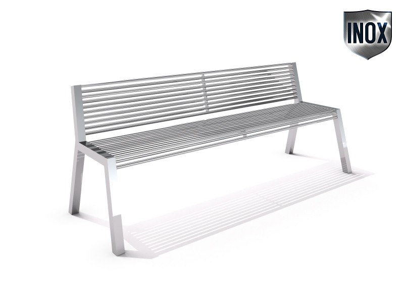 Playground Equipment for sale Stainless steel bench 17 Professional manufacturer