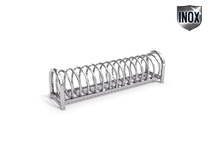 stainless steel bicycle rack 12