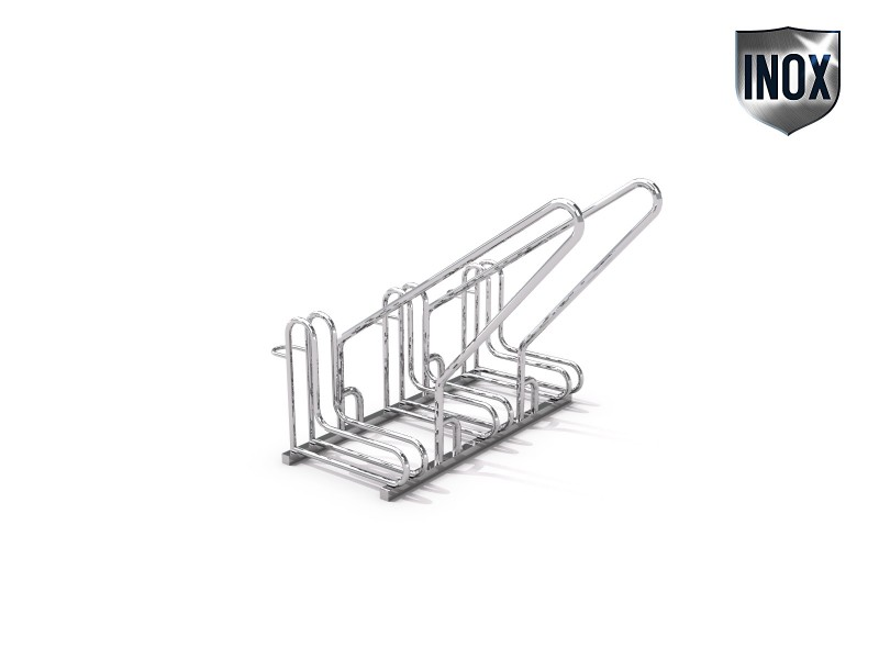 stainless steel bicycle rack 15