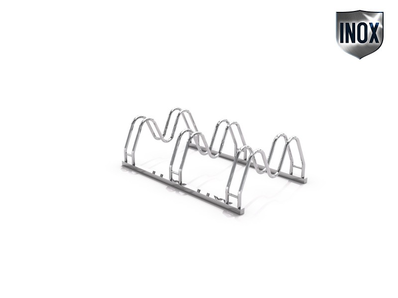 stainless steel bicycle rack 16