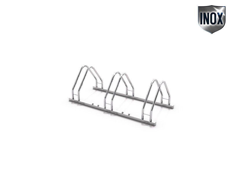 stainless steel bicycle rack 17 Inter Play Playground