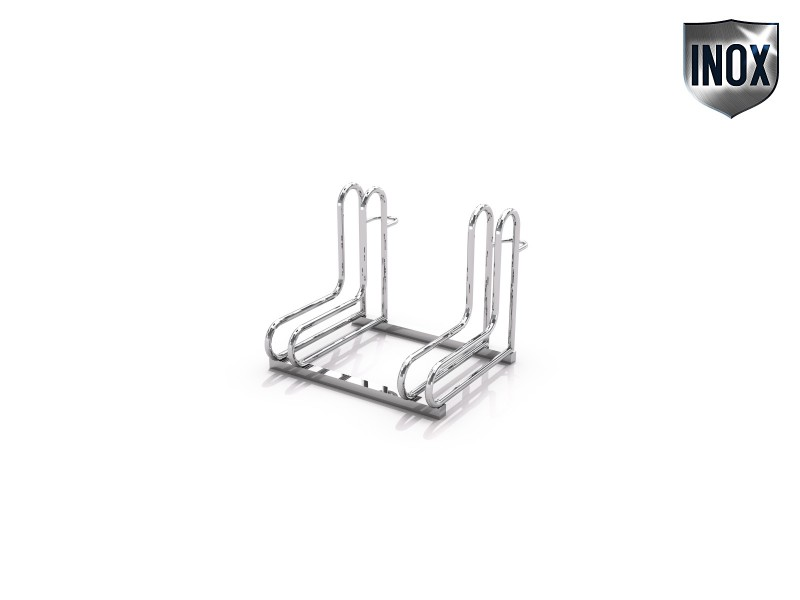 stainless steel bicycle rack 18