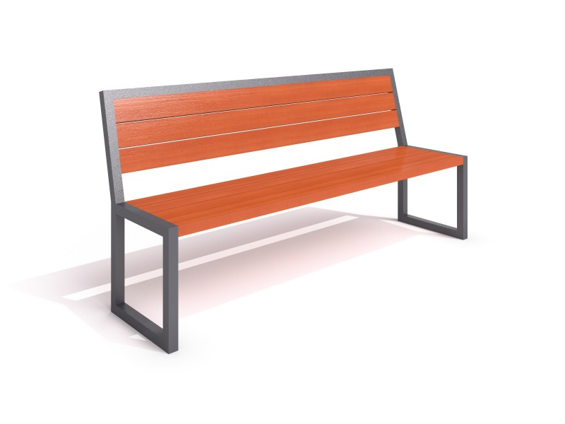 Playground Equipment for sale steel bench 13 Professional manufacturer