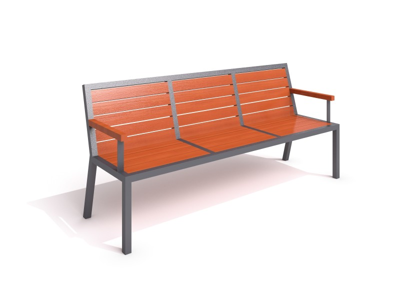 Playground Equipment for sale steel bench 18 Professional manufacturer