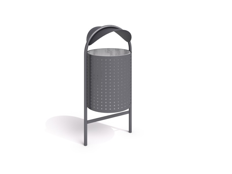 Playground Equipment for sale steel trash bin 11 Professional manufacturer