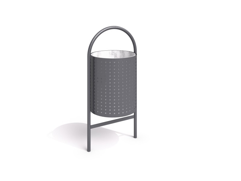 Playground Equipment for sale steel trash bin 12 Professional manufacturer