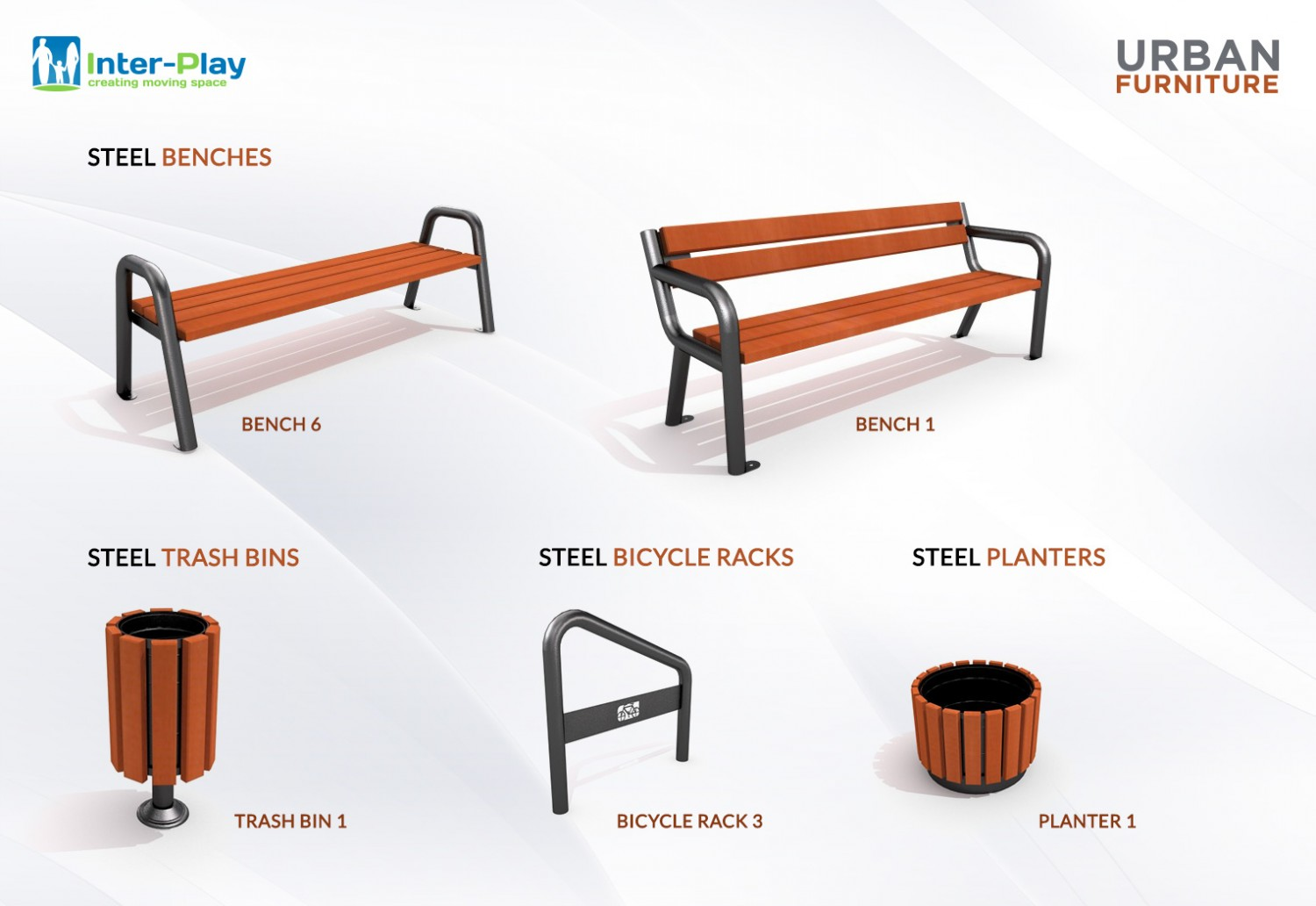 Steel urban furniture Inter Play Blog