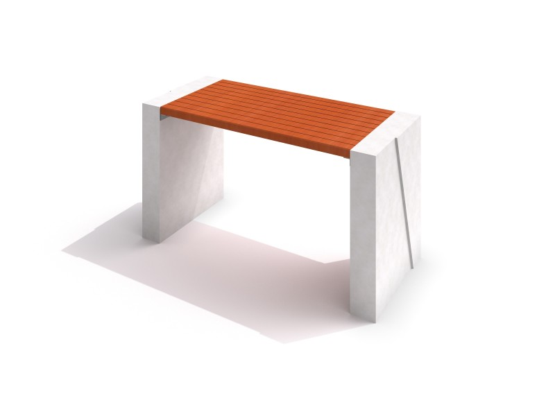 DECO white concrete table 01