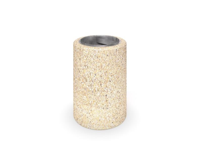 concrete trash bin 07