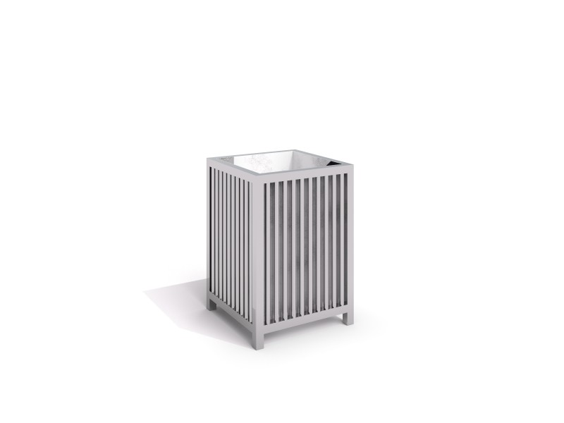 stainless steel trash bin 03 PLAYGROUNDS