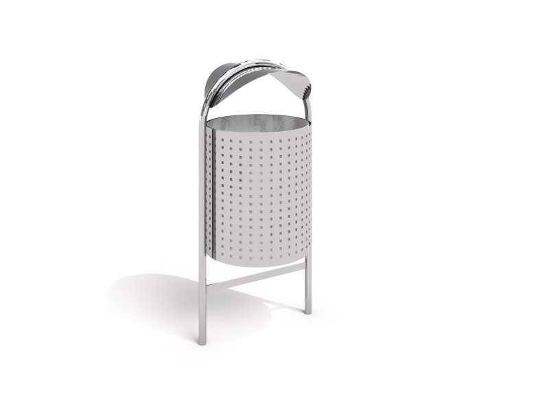 stainless steel trash bin 05 PLAYGROUNDS