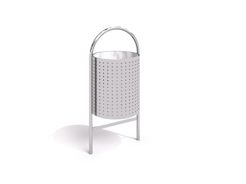 stainless steel trash bin 06 PLAYGROUNDS