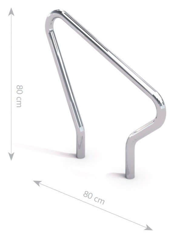 stainless steel bicycle rack 03 Inter Play Playground