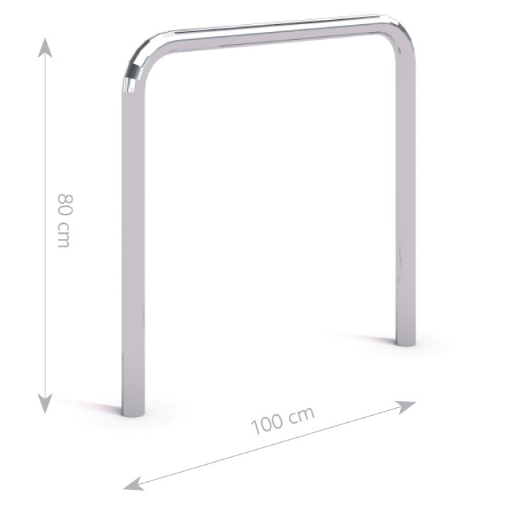Steel bicycle rack 22 Inter Play Playground