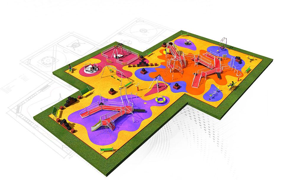 Spielplatzgestaltung