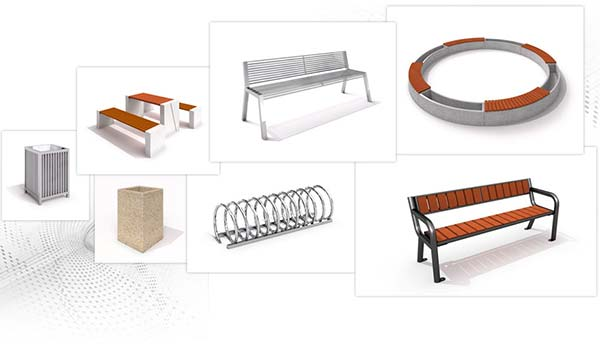 Urban furniture Inter Play
